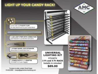 CandyRackLighting Kit